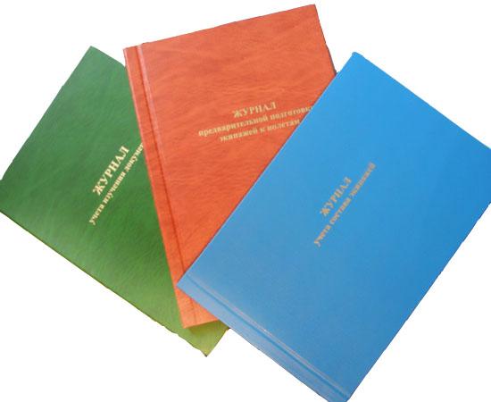 Журналы для летных служб (твёрдый переплёт)